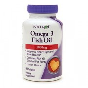 Омега-жиры Natrol Omega 3 Fish Oil 1000 мг  (90 капс)