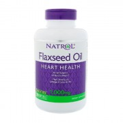 Омега-жиры Natrol Flaxseed Oil 1000 мг  (200 капс)