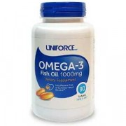 Омега-жиры Uniforce Omega-3 Fish Oil 1000 мг  (90 капс)