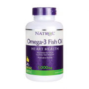 Омега-жиры Natrol Omega 3 Fish Oil 1000 мг  (150 капс)
